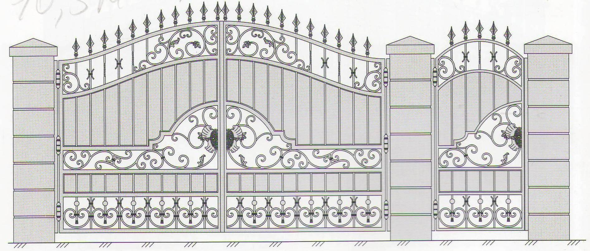 Ворота скиз купить ворота и калитку в кобрине